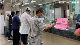 內湖郵局,領取三倍券,記者劉沛妘攝影