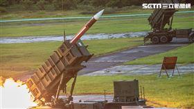空軍防空部射擊愛國者二型防空飛彈。(圖/國防部提供)