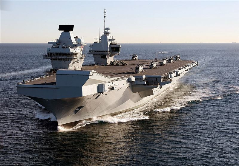 [新聞] 日媒爆料英國「最強航母」要停靠了?台灣