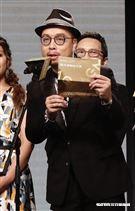 金曲獎入圍名單公布,揭獎嘉賓李千那、孫盛希、官零芝、黃宣及主席陳鎮川。(圖/記者林聖凱攝影)
