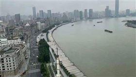 上海,黃浦江,潰堤,三峽大壩,水鄉澤國