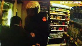 台北市陳男酒後襲警反遭壓制在地。(圖/翻攝畫面)
