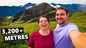 為何台灣總是被低估?比利時夫妻讚爆(圖/翻攝自「Naick & Kim Travel Adventures」臉書粉絲專頁)