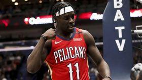 NBA/鵜鶘球星傷腹肌 至少缺1週 NBA,紐澳良鵜鶘,Anthony Davis,Jrue Holiday,受傷 翻攝自推特