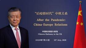 ▲中國駐英國大使劉曉明。(圖/翻攝自推特)