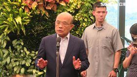 行政院長蘇貞昌。(圖/記者盧素梅攝)
