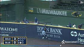 ▲賈西亞(Avisail Garcia)沒收隊友全壘打。(圖/翻攝自MLB官網)