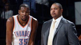 NBA/美媒爆:KD想要他執教籃網 NBA,布魯克林籃網,Kevin Durant,總教練,Mark Jackson 翻攝自推特