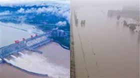 三峽大壩,淮河,組合圖