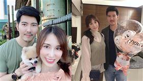 Apple黃暐婷,最帥牙醫,趙國翔,結婚,求婚。翻攝自臉書