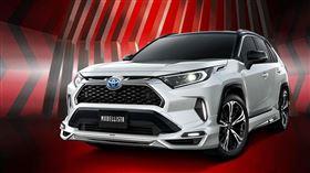▲Modellista為Toyota RAV4 Prime推出改裝套件(圖/翻攝自Modellista官網)