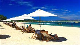 今年暑假澎湖人潮爆量。(圖/觀光局提供)