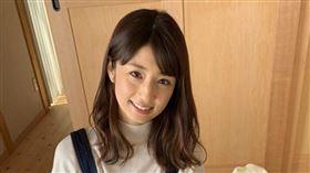 日本寫真女星小倉優子。(圖/翻攝自IG)