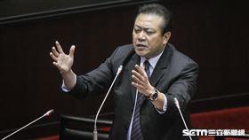 民進黨立委蘇震清質詢,要求高鐵南移至屏東 圖/記者林敬旻攝
