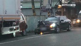 a賓士猛撞車1630