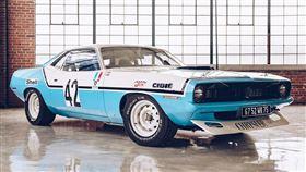 ▲1970年克萊斯勒HEMI Cuda冠軍賽車。(圖/翻攝Redlinerestorations網站)