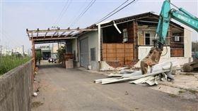 台南鐵路地下化計畫於7月21日及23日 持續執行地上物強制拆除(圖/資料照)