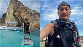 KID(林柏昇)開心宣布自己考取遊艇執照。(圖/翻攝自KID IG)