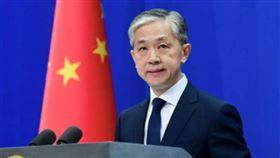 中國外交部發言人汪文斌(圖/翻攝自人民日報臉書)
