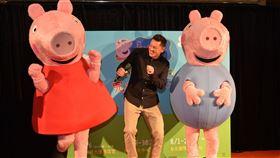 超級動畫巨星「Peppa Pig粉紅豬小妹」,7/26起台中高雄台北全台巡迴演出。圖/寬宏藝術提供