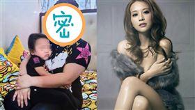 林雅詩怒貼小三抱著孩子的照片,不少網友全看傻眼。(圖/翻攝自林雅詩臉書)