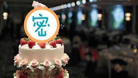 一對新人結婚蛋糕的裝飾人偶讓網友全傻眼。(圖/翻攝自pixabay)