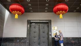 中國駐美國休士頓領事館  圖/美聯社/達志影像