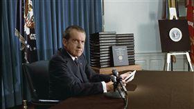美國總統尼克森(圖/翻攝自維基百科)