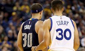 NBA/百發百中!柯瑞弟轟6顆三分 NBA,達拉斯獨行俠,Seth Curry,金州勇士,Stephen Curry 翻攝自推特