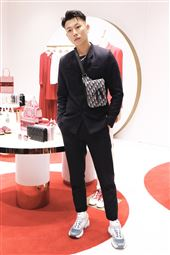 E.SO瘦子和曾之喬現身 Dioramour 限定店擔任嘉賓。(圖/記者林聖凱攝影)