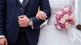 婚禮(翻攝自 Pixabay)