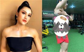 越南健身美女Tran Thi Ny。(圖/翻攝自臉書)