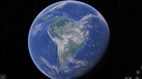 南美洲(圖/翻攝自Google Earth)