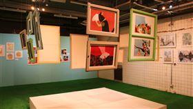 義大利波隆那插畫家聯展登場(1)文化部文化資產園區即日起舉辦「照亮夢境-義大利波隆那插畫家聯展」,除展出18名義大利兒童插畫家作品,也邀集32名台灣新秀插畫家一同聯展。中央社記者蘇木春攝 109年7月25日