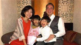 老公是美外交官!台灣女星遭陸網霸凌:灣灣人都這麼綠茶?(圖/翻攝自林傑偉臉書)