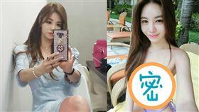 南韓女星姜藝彬京常以火辣性感造型示人。(圖/翻攝自姜藝彬IG)