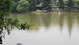 秦淮河狂淹 大壩卻被「挖空」蓋餐廳…長江下游危險了(圖/翻攝自微博)