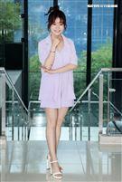 楊小黎接「在台灣的故事」主持人是第11位主持人也是第一位女性主持人。(記者邱榮吉/攝影)