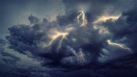 委內瑞拉,閃電,氣象,科學,雷暴,攝影(圖/翻攝自Pixabay)
