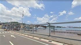 海洋廣場,女浮屍,打撈,基隆,翻攝google