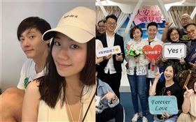 王瞳與艾成、馬俊麟、梁敏婷/臉書