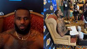 NBA/大牌過總仔?詹皇受訪有王座 NBA,洛杉磯湖人,LeBron James,王座,Frank Vogel 翻攝自推特