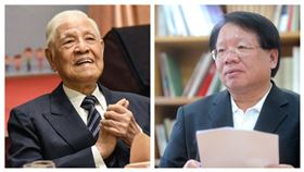 前總統李登輝、前國安會前副秘書長張榮豐。(組合圖/資料照、翻攝張榮豐臉書)