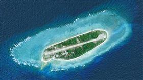 太平島,馬英九登太平島,(圖/翻攝自馬英九臉書)