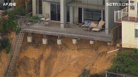 澳洲新南爾威斯(Central Coast)溫貝拉爾海灘(圖/翻攝自AP)
