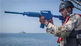 「索馬利蘭紀事報」引述消息人士報導,中國與東非索馬利亞達成協議,要在紅海聯合巡弋。紅海倡議成員包括吉布地、約旦等地。圖為吉布地參與美國非洲司令部2019年11月在東非進行的海上演習。(圖取自facebook.com/AFRICOM)