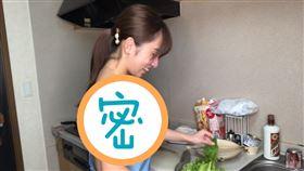日本女星高梨瑞樹裸體圍裙(圖/翻攝自YouTube)