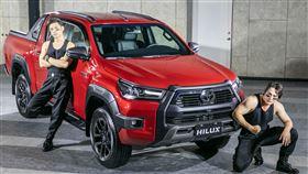 ▲全新TOYOTA HILUX皮卡。(圖/Toyota提供)