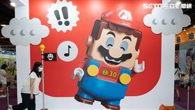 樂高超級瑪利歐明上市 15倍大主機ACG博覽會搶先玩(圖/台灣樂高提供)