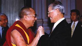 達賴喇嘛、李登輝(翻攝自達賴喇嘛臉書)